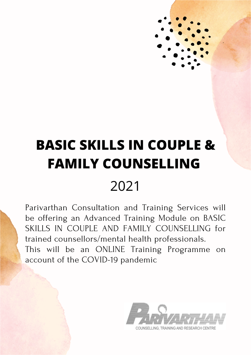 Parivarthan Counselling Training Research Centre